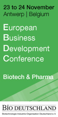 Picture BIO Deutschland European Business Development Conference 120x240px