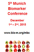 Picture BioM Munich Biomarker Conference 2015 M�nchen Germany December 120x180px