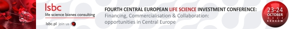 Banner LSBC Central European Life Science Investment Conference 2014 600x60px