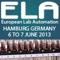 Banner Select Biosciences Ltd European Lab Automation ELA 2013 Hamburg 120x120px