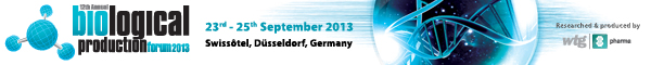 Banner WTG Biological Production Forum September 2013 Dusseldorf 600x60px